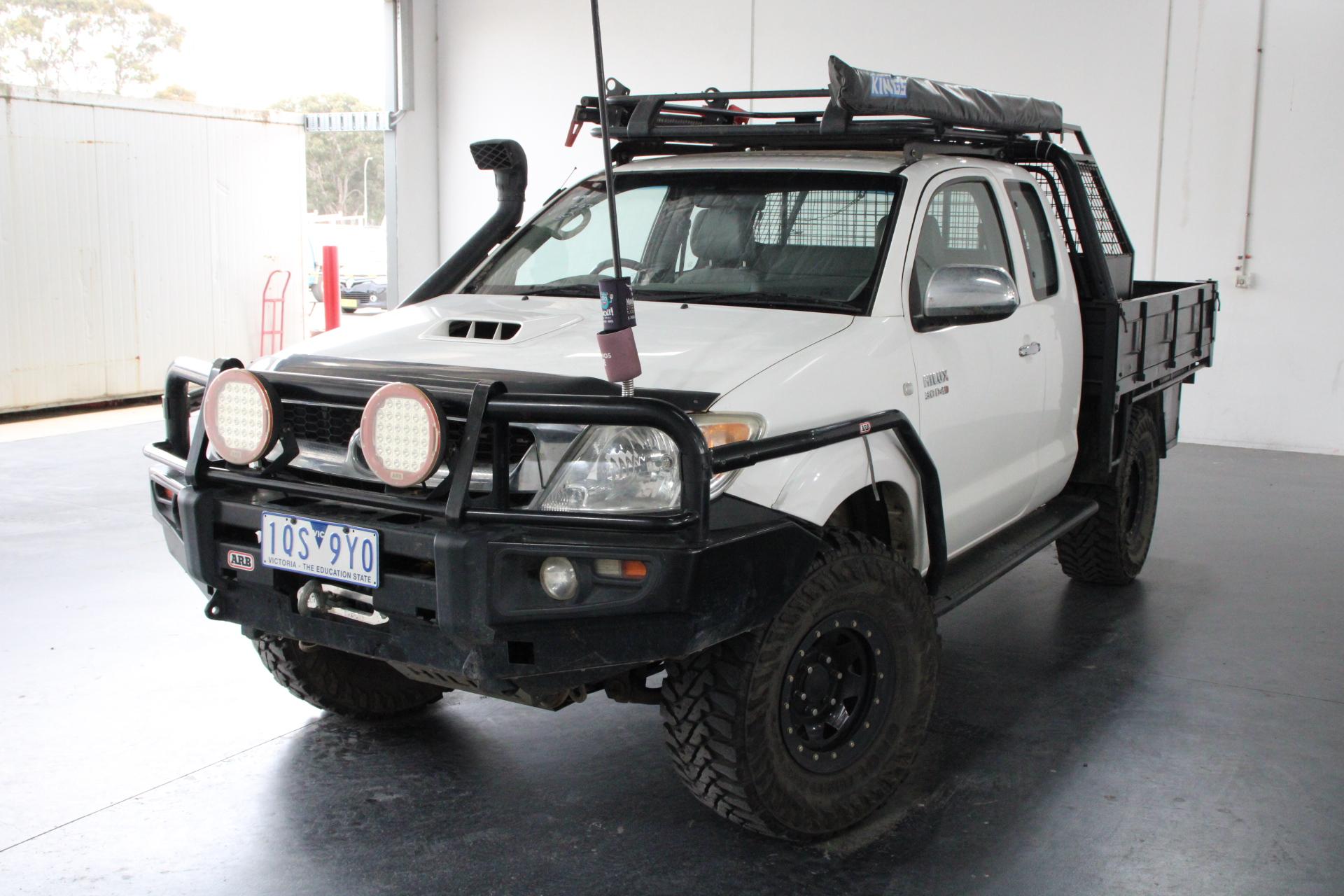 2007 Toyota Hilux SR (4x4) KUN26R Turbo Diesel Manual Ute