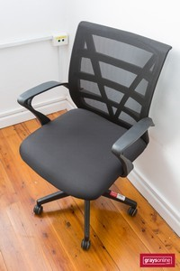 Clerical Chair with Arms