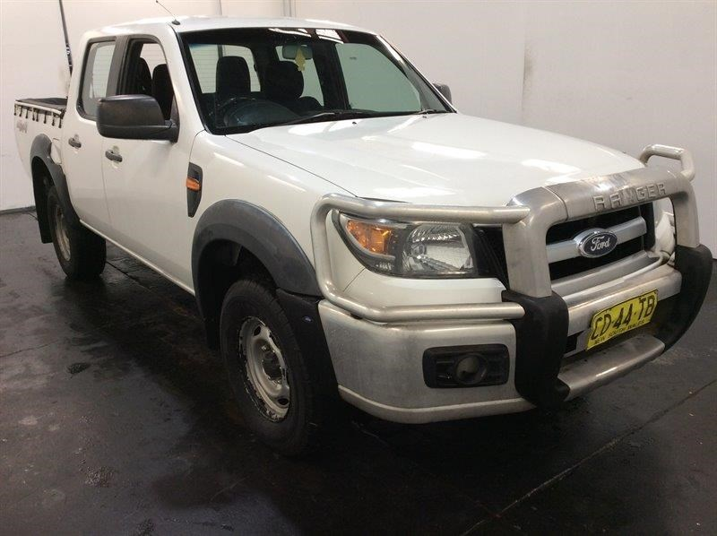 2009 Ford Ranger XL 4WD Manual - 5 Speed Dual Cab Ute