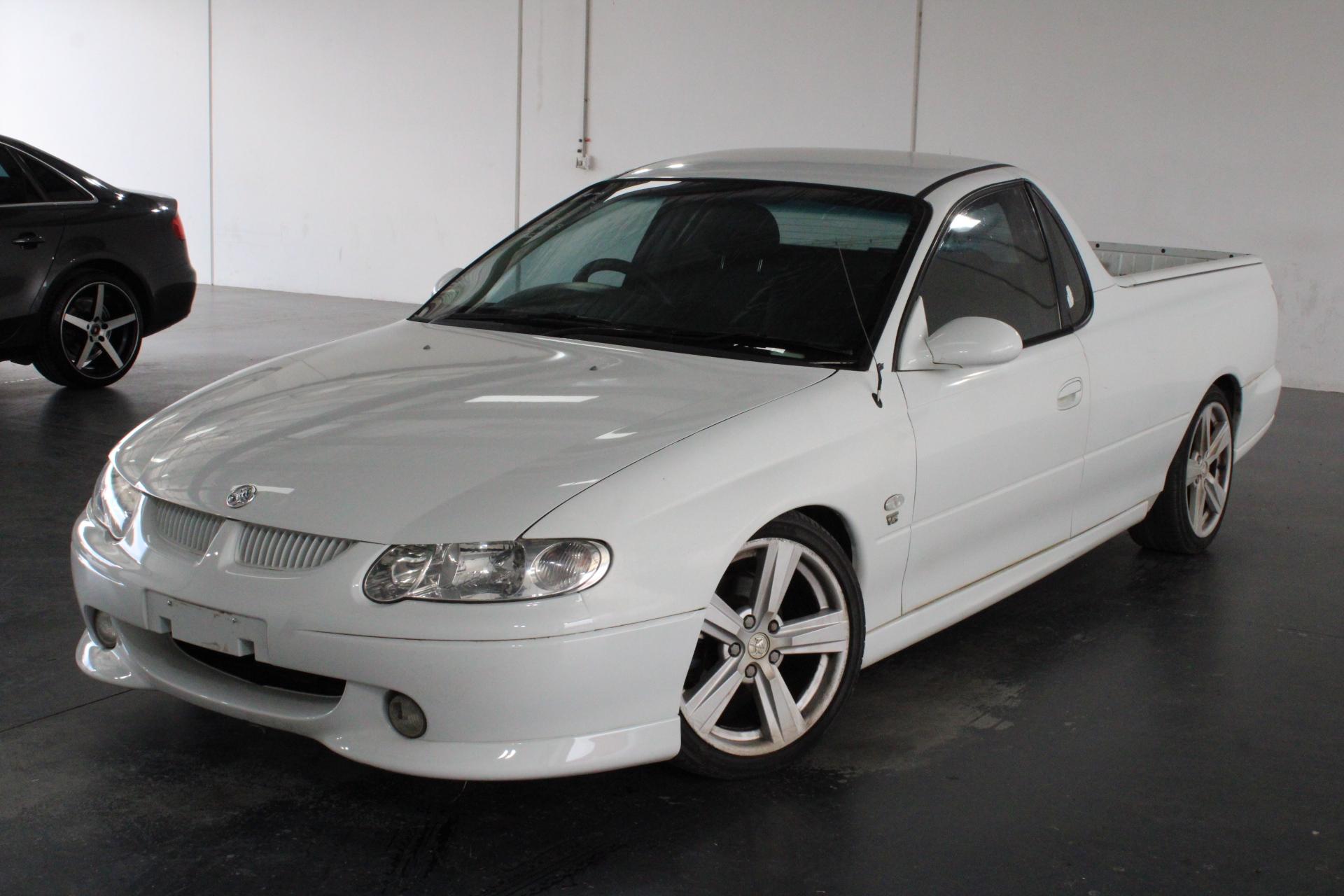 2002 Holden Commodore S VU Automatic Ute