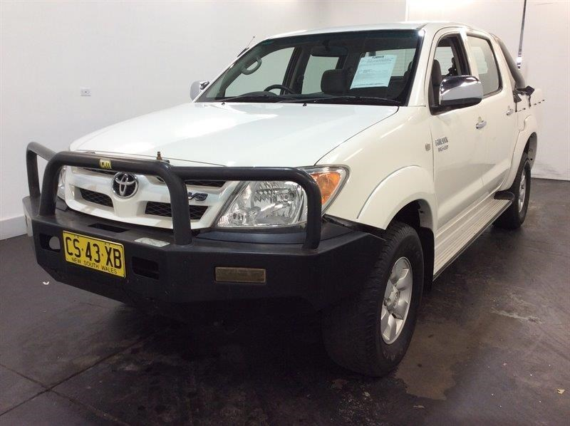 2007 Toyota Hilux SR5 4WD Manual - 5 Speed Dual Cab Ute