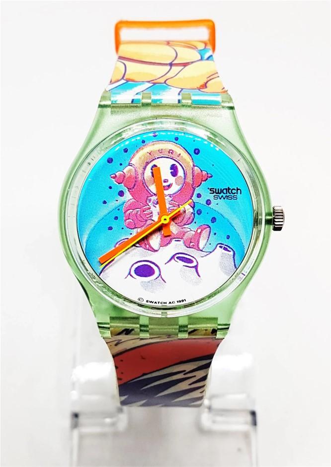 Collectors Item! Rare 1993 Vintage Original Yuri Swatch Watch!