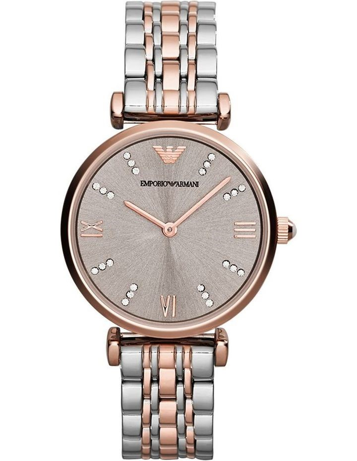 Stunning new Emporio Armani rose gold plated watch.