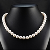 Natural Akoya Pearl Uniform Necklace 9.0 - 9.5mm