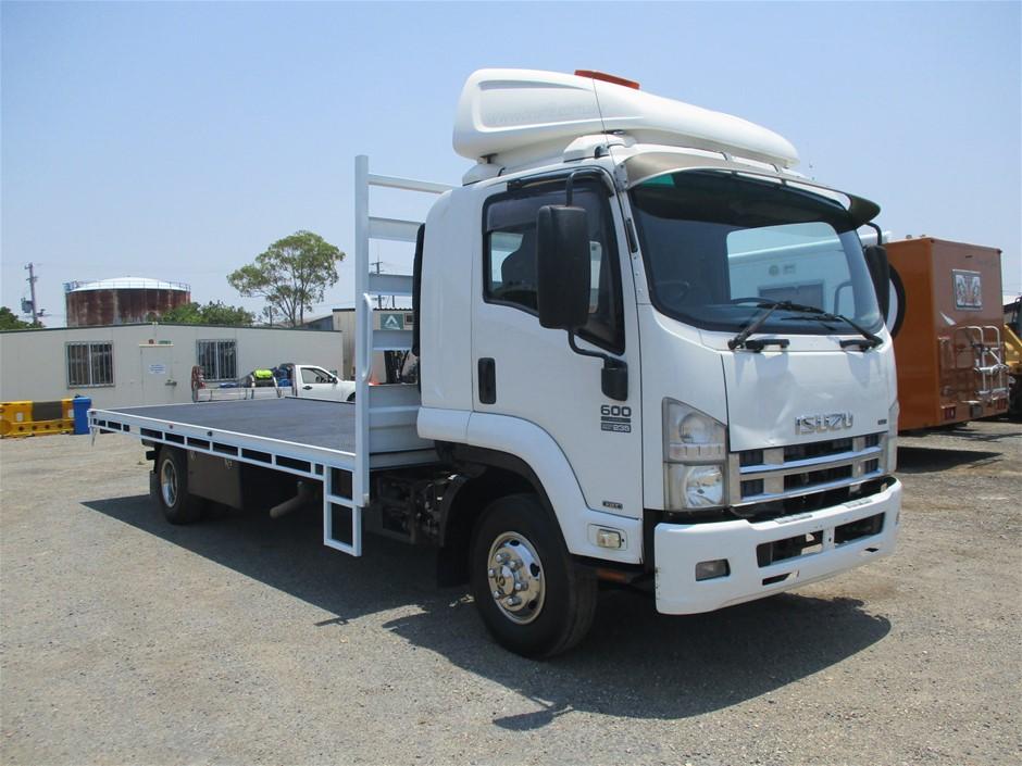 7/2008 Isuzu FRR600 Long Euro V 4X2 Tray Back Truck