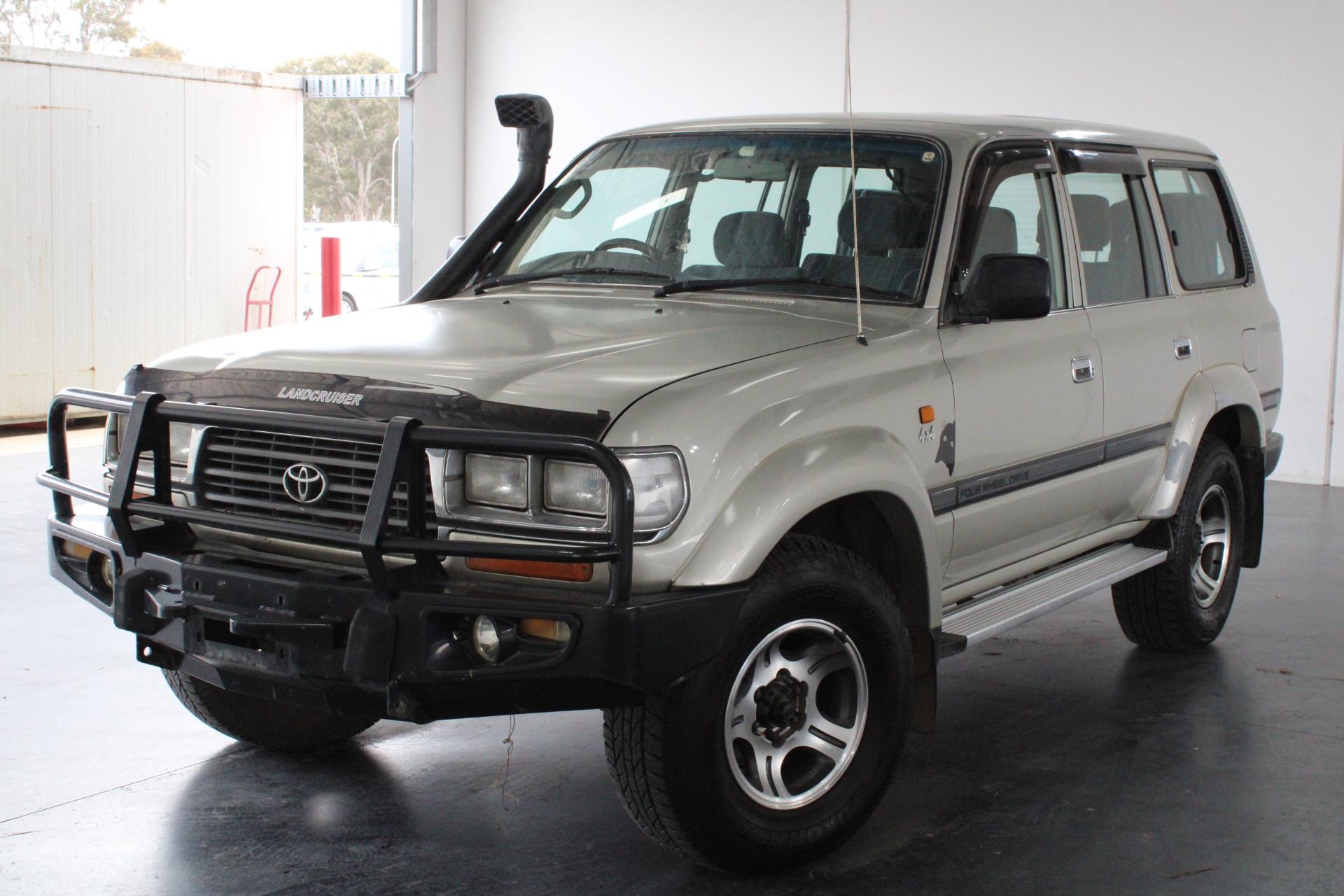 1997 Toyota Landcruiser GXL (4x4) FZJ80 Automatic 8 Seats Wagon