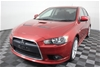 2008 M09 Mitsubishi Lancer RALLIART 6 Speed AWD 158,209 km's