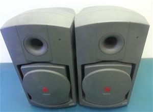 Box of 2 X Polycom Subwoofer amp Speaker