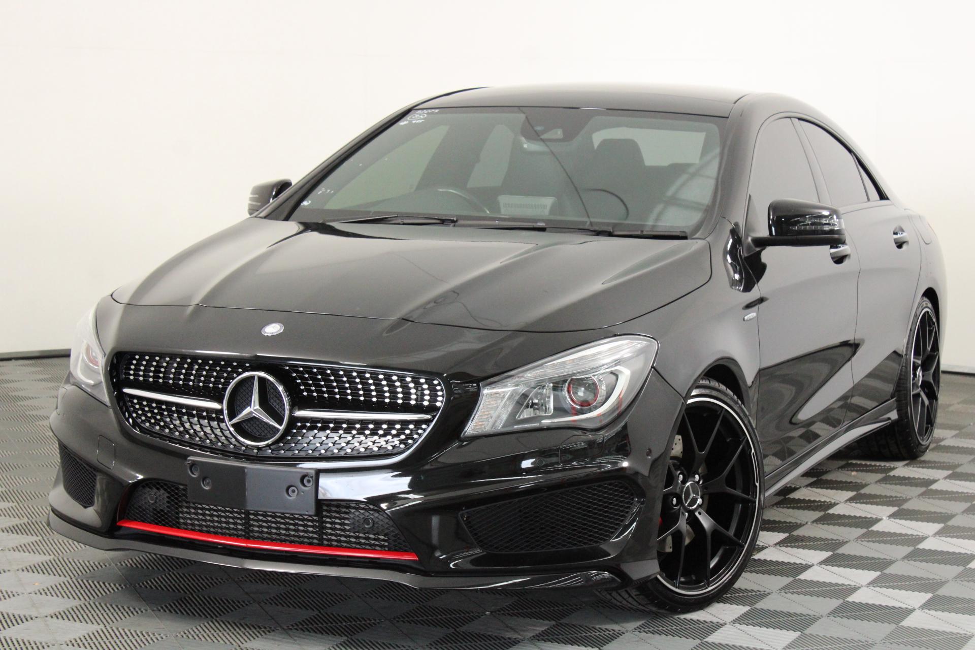 2016 Mercedes Benz CLA Class CLA250 SPORT 4MATIC C117 Automatic Coupe