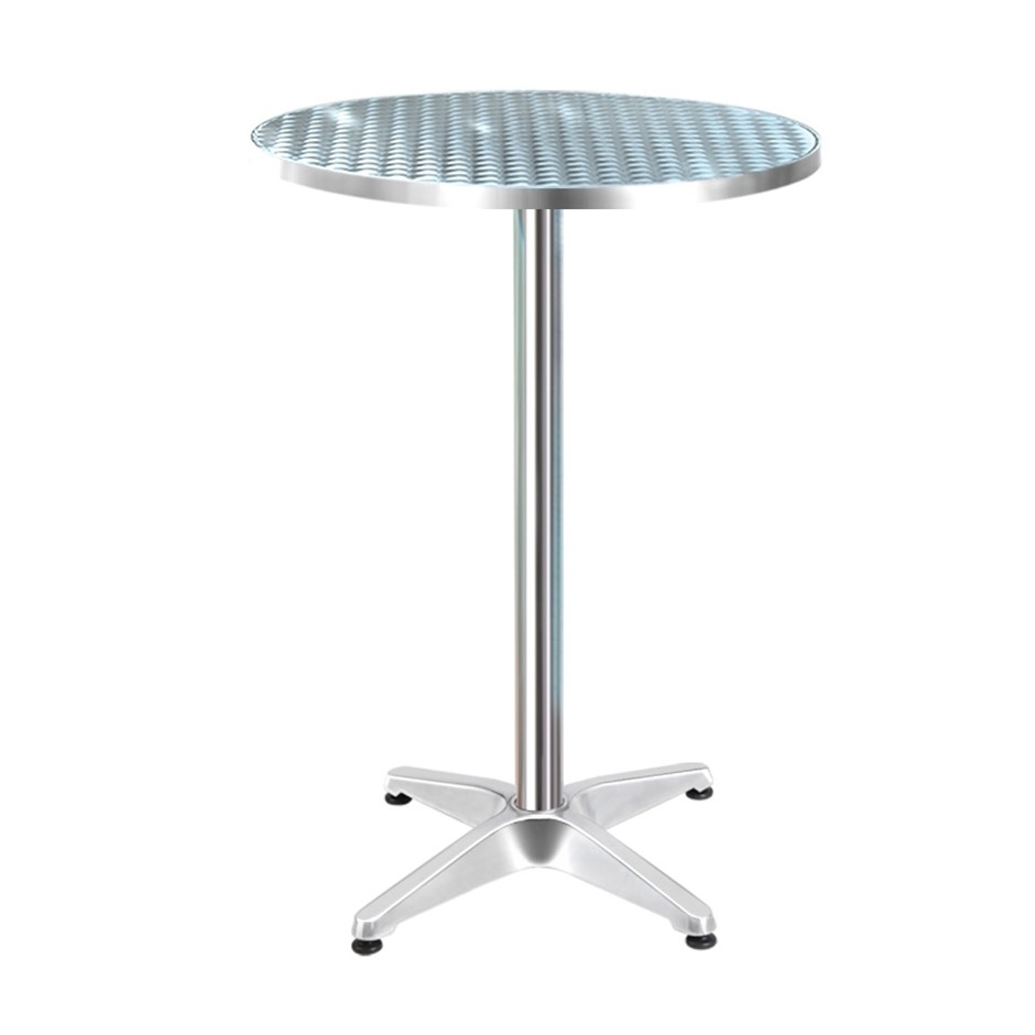 Gardeon Outdoor Bar Table Indoor Furniture Adjustable Aluminium 70/110cm