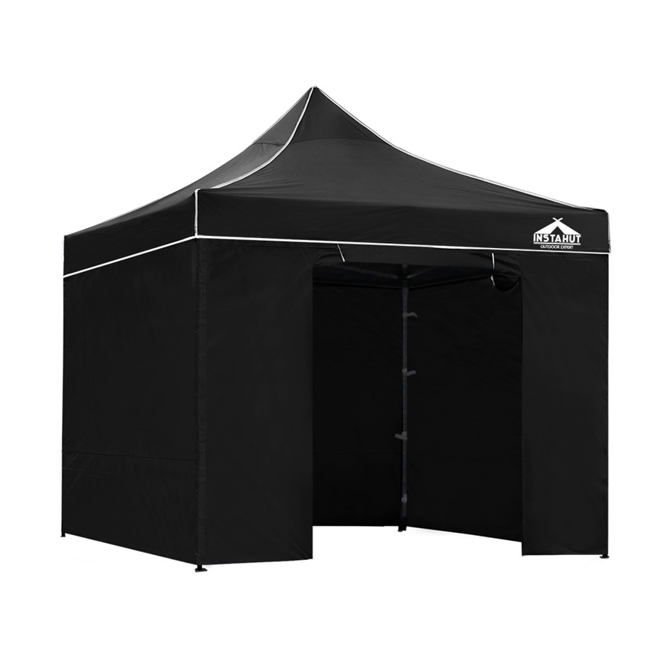 Instahut Aluminium Pop Up Gazebo Outdoor Folding Marquee Tent Party 3x3m