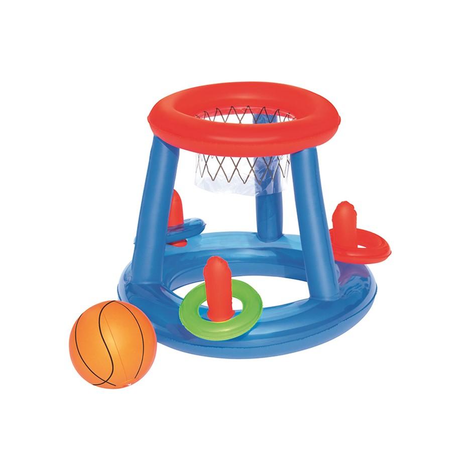 Bestway Game Float Kool Pool Dunk Inflatable Basketball Hoop Set