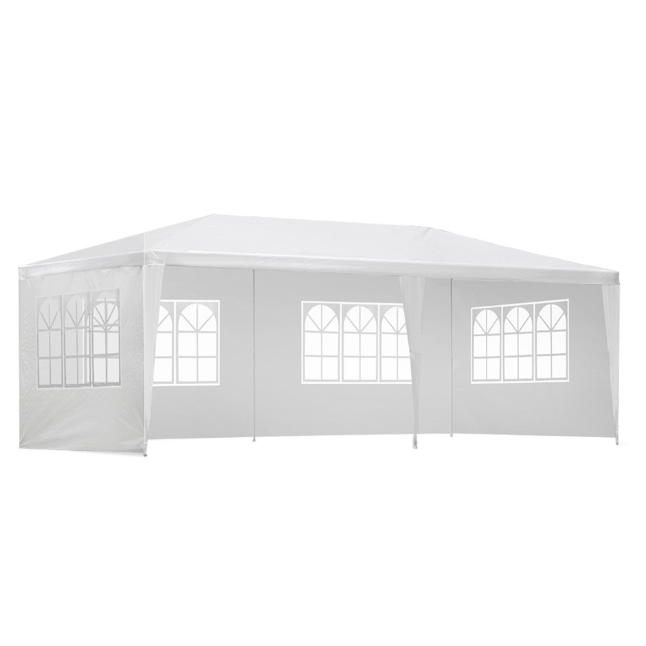 Instahut Gazebo Party Wedding Marquee Event Tent Shade Canopy Camping White