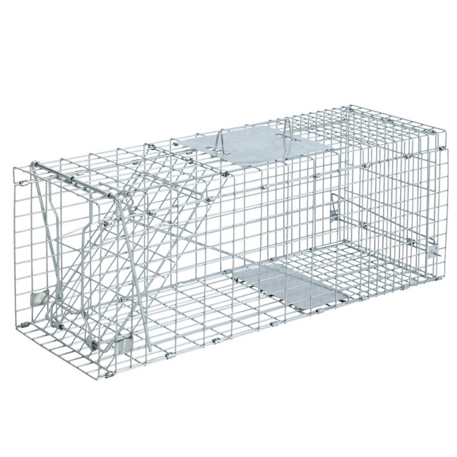 Trap Humane Possum Cage Live Animal Safe Catch Rabbit Cat Hare Fox Bird