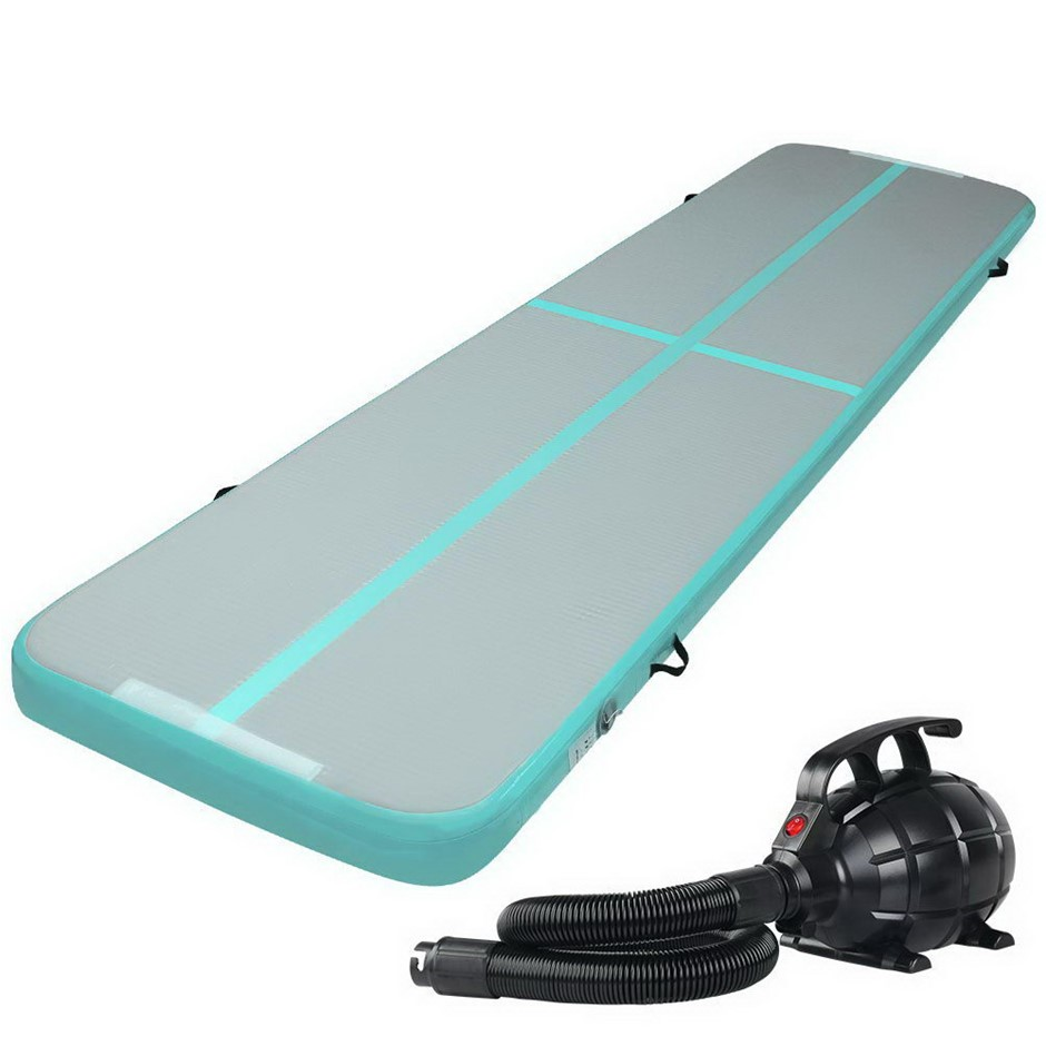 Everfit 4X1M Airtrack Inflatable Mat W/Pump Floor Gymnastics