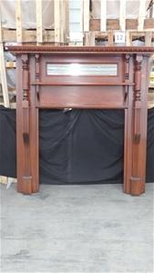 Belmain Timber Mantel