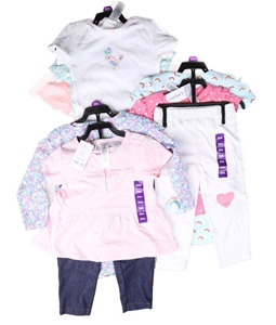 3 x CARTER`S 3pc Girl`s Clothing Sets, S