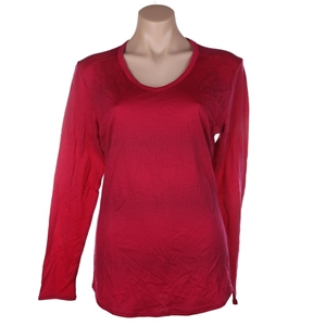 SEG`MENTS Womnen`s V-Neck Long Sleeve To