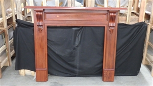 Riversdale Timber Mantel