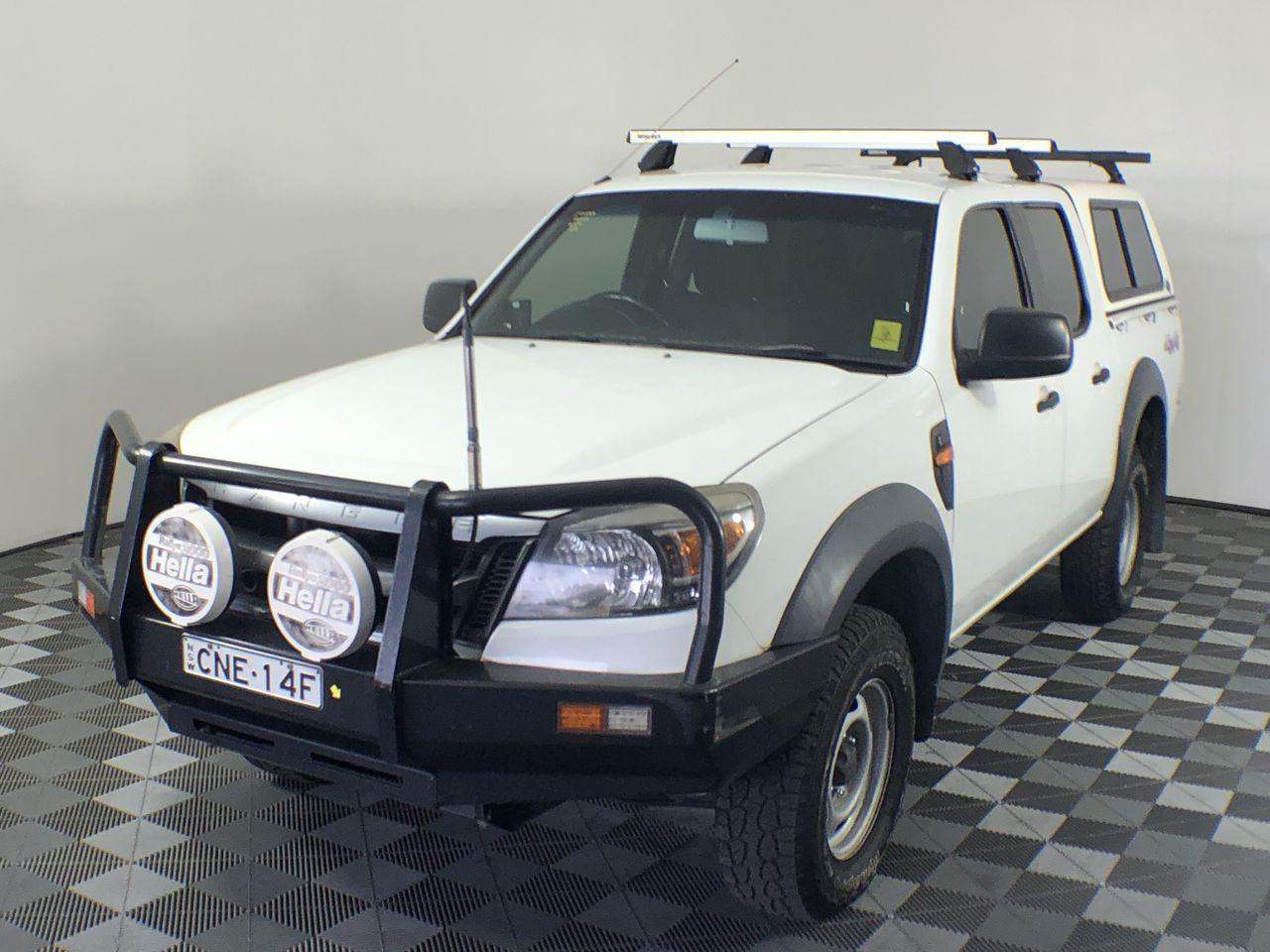 2011 Ford Ranger XL 4x4 Auto T/Diesel Dual Cab Ute w/ Canopy