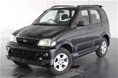 Unreserved 2001 Daihatsu Terios SX (4x4) Auto Wagon
