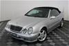 2001 Mercedes Benz CLK430 Elegance A208 Automatic Convertible