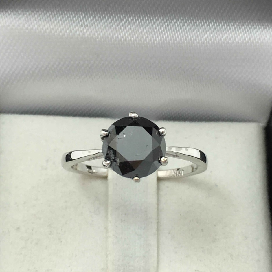 18ct White Gold, 2.40ct Diamond Engagement Ring