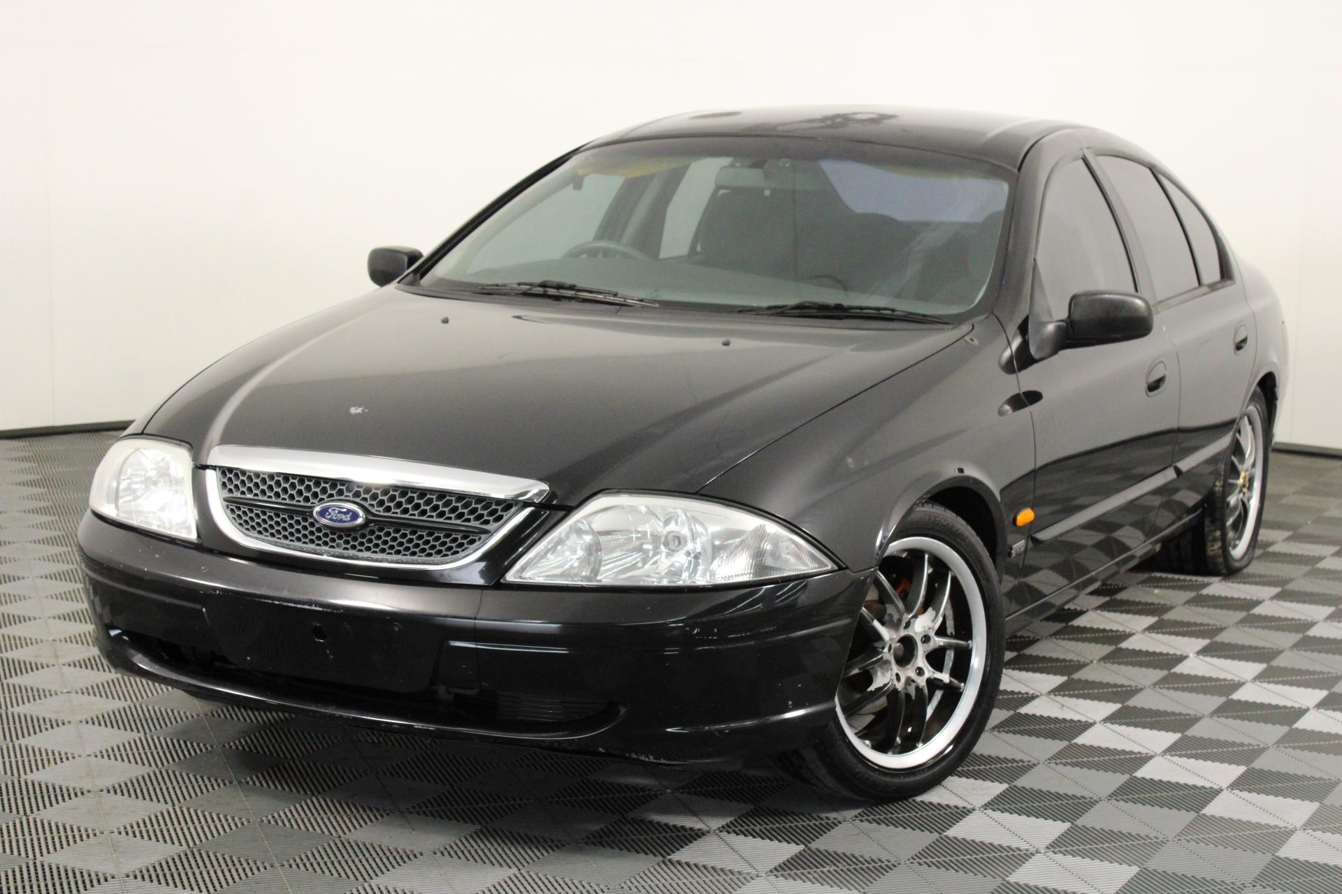 1999 Ford Fairmont AU Automatic Sedan