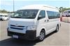 2014 Toyota Hiace Commuter KDH223R Turbo Diesel Automatic 12 Seats Bus