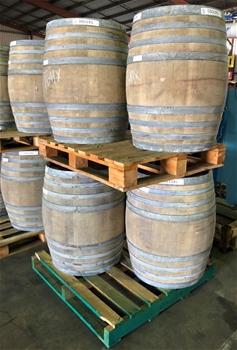 Unreserved Oak Wine Barrels