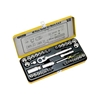STANLEY 40pc 1/2`` Drive Combo Socket Set, Metric & Imperial. Contents: - 1