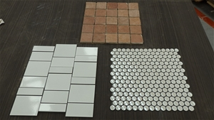 Qty of Assorted Mosaic Tiles