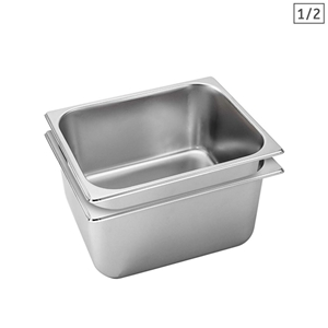 SOGA 2X Gastronorm GN Pan Full Size 1/2