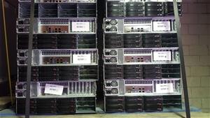 Supermicro 4U-E5-V3CPU SERVER, 2x E5-262