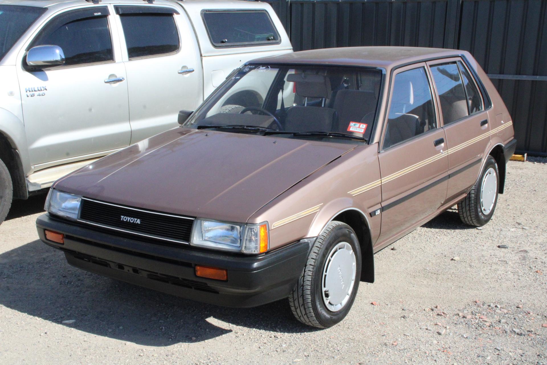 1986 Toyota Corolla Manual Hatchback