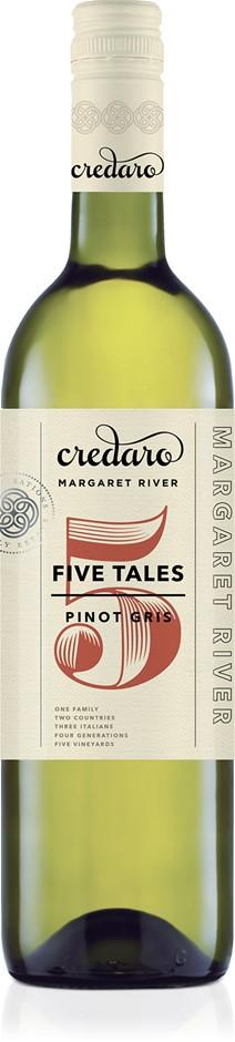 Credaro Five Tales Pinot Gris 2017 (12 x 750mL) Margaret River, WA