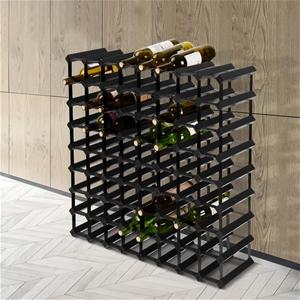 Artiss 72 Bottle Timber Wine Rack Wooden