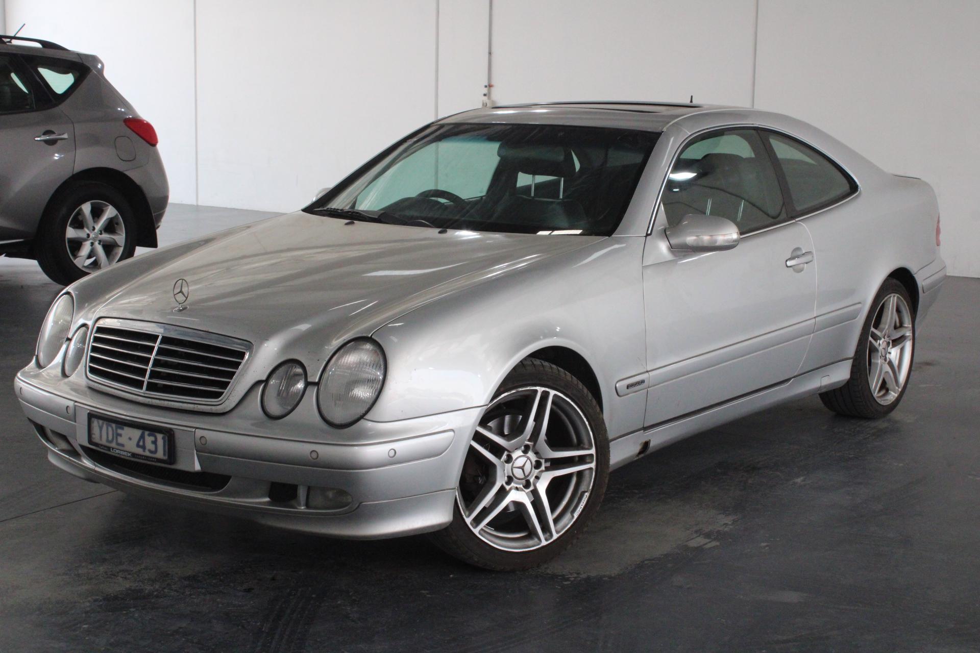 2001 Mercedes Benz CLK320 Elegance C208 Automatic Coupe