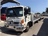 2011 Hino FD500 4 x 2 3 Car Carrier