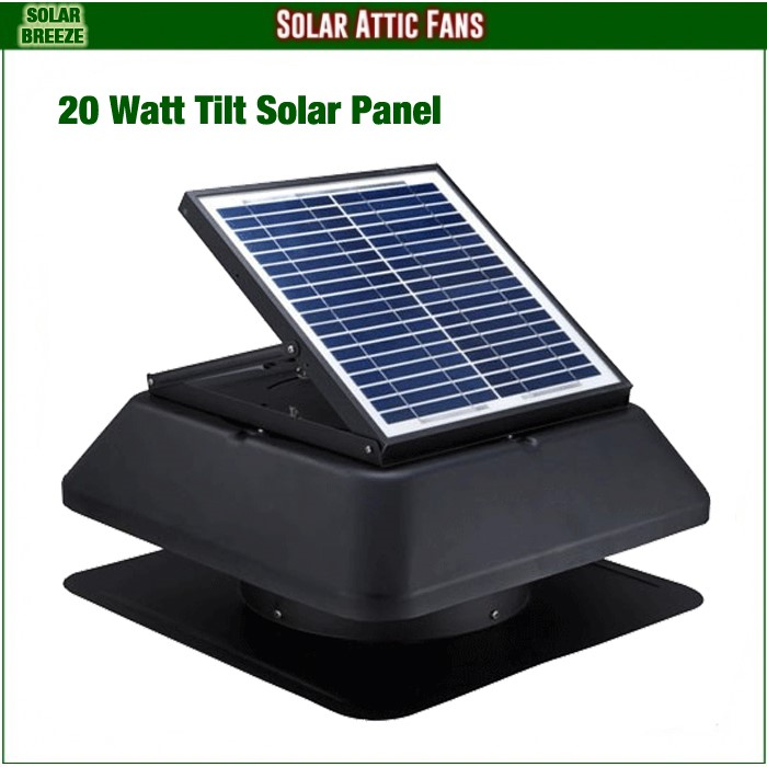 Unused Solar Breeze Roof Fan - 1420S