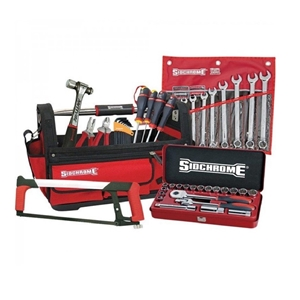 SIDCHROME 47pc Tool Kit with Contractors