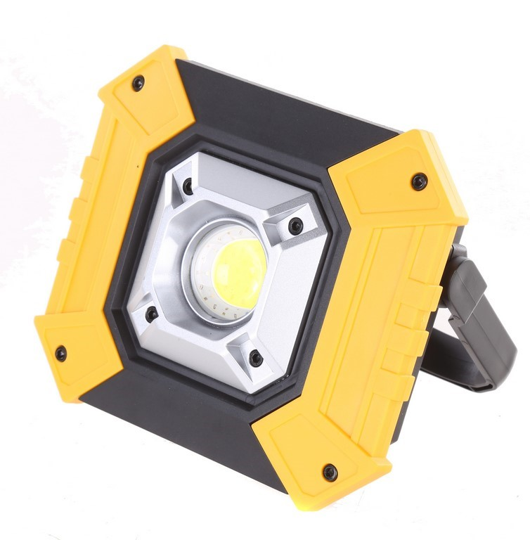 Multi-Functional Work Lamp c/w 2 x Li-ion 18650 2200mAh 3.7V, Phone Emergen