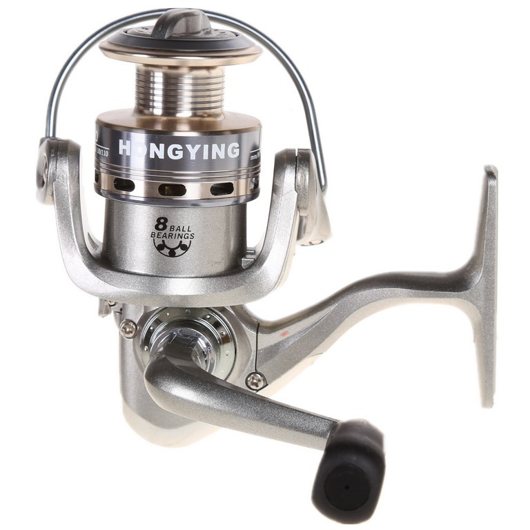 Fishing Reel Gear Ratio 5.2:1, Light Weight Design, Line Capacity 0.18/220,
