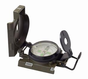 HUMVEE Military Style Compass, Olive Dra