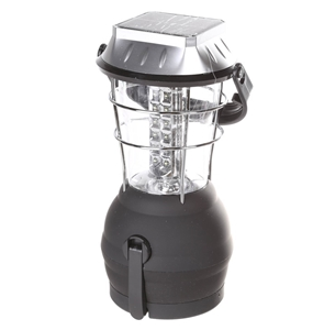 SOLAR 36 LED Lantern c/w Fold-Away Crank
