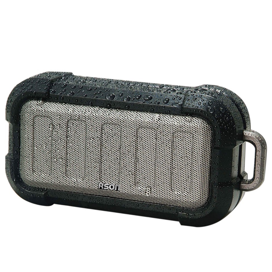 RSON Rugged Portable Bluetooth Wireless Speaker 3W, Operating Distance 10M,