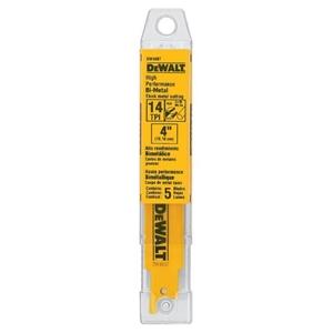 DeWALT 5Pk Bi-Metal Reciprocating Saw Bl