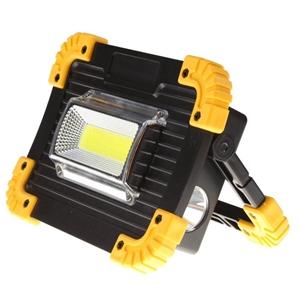 Portable LED Flood Light, 20W with Recha