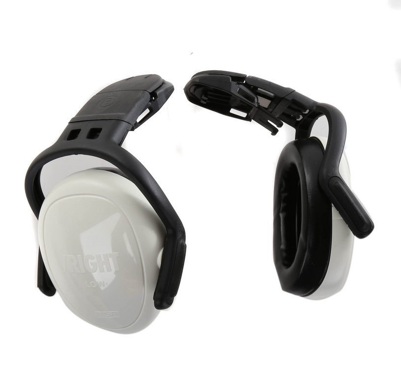 MSA Left/RIGHT Low Helmet Mount Ear Muffs. Buyers Note - Discount Freight R