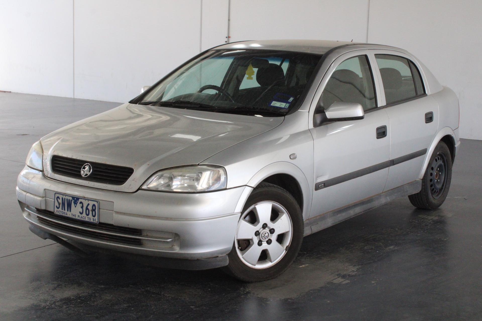 2004 Holden Astra CD TS Manual Hatchback